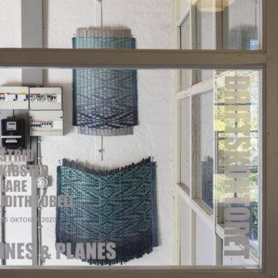 Kontorhulen. Installation af Astrid Skibsted og Clare Judith Lubell. Foto Birgitte Munk