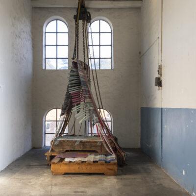 Fabrikshulen. Installation af Astrid Skibsted og Clare Judith Lubell. Foto Birgitte Munk