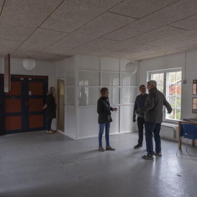 Besøg af Viborg Kunstforening - Hans Henrik og Tove Jacobsen. Photocredit: Birgitte Munk